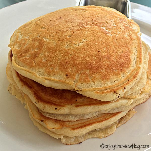 Pancake stack at Sunset Bay Cafe in the Sandestin resort.
