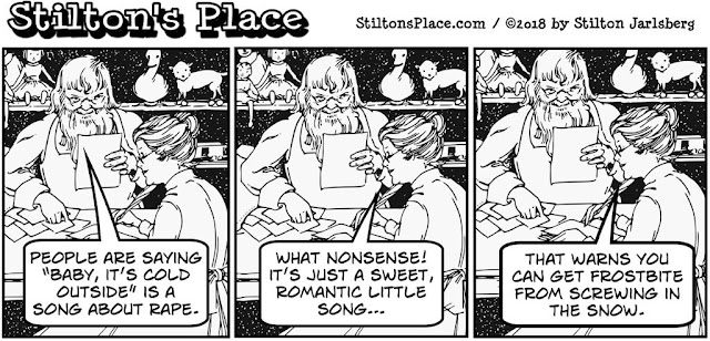 stilton's place, stilton, political, humor, conservative, cartoons, jokes, hope n' change, baby it's cold outside, christmas, political correctness, liberals, pinheads, snowflakes