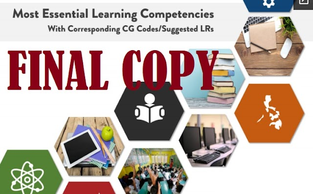 Final Copy of Most Essential Learning Competencies (MELCs)