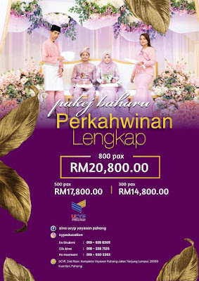 Pakej perkahwinan murah