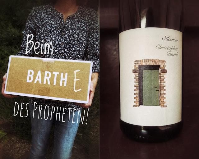 Wein vom Weingut Christopher Barth in Rheinhessen.