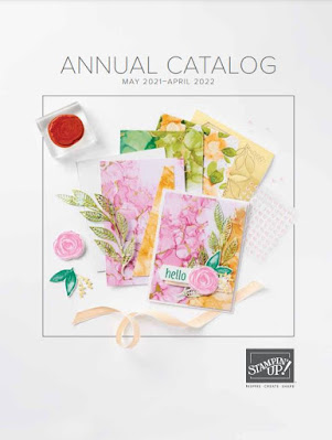 Catalog cover of Stampin' Up! 2021 Annual Catalog