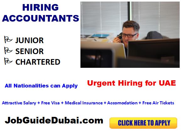 Kulfilicious Caffe career for assistant accountant job in Dubai UAE