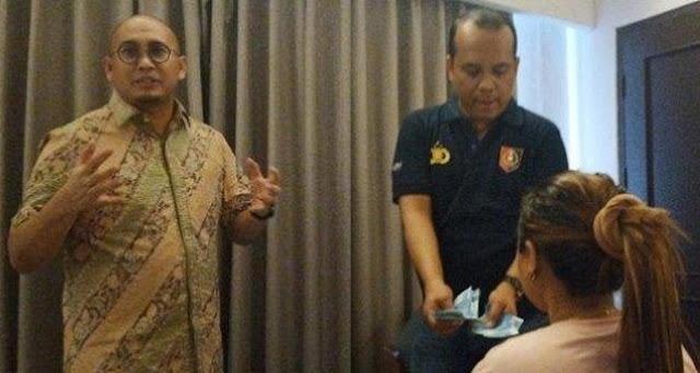 Arief Poyuono Balas Andre Rosiade: Emang Saya Nindas?...  Andre Tuh, Nindas P5K