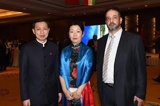 بالصور احتفال سفارة الصين بالكويت