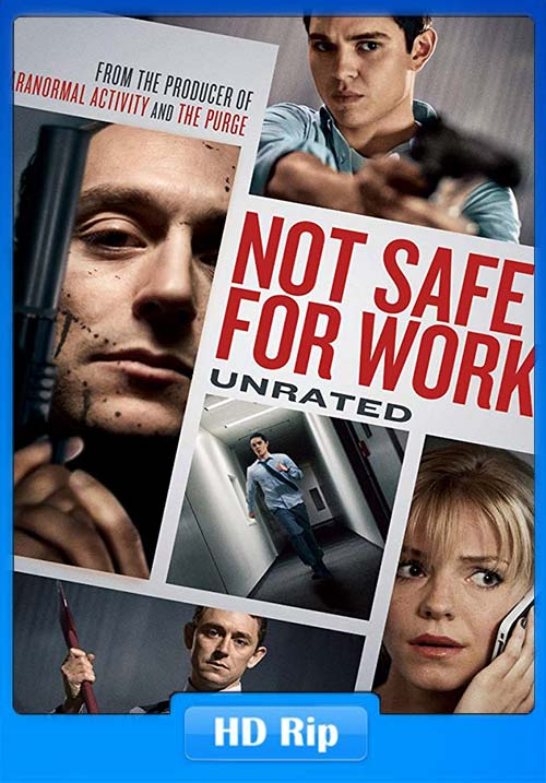 Not Safe For Work 2014 720p BDRip Hindi Tamil Eng x264 | 480p 300MB | 100MB HEVC