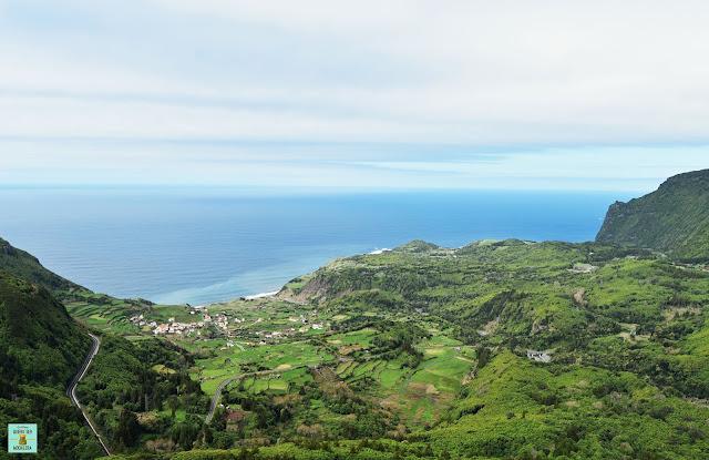 Miradouro Craveiro Lopes, isla de Flores (Azores)