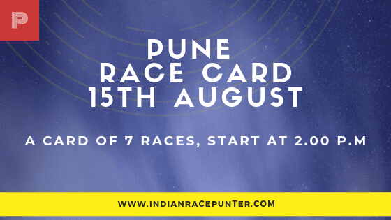 Pune Race Card , free indian horse racing tips, trackeagle,racingpulse