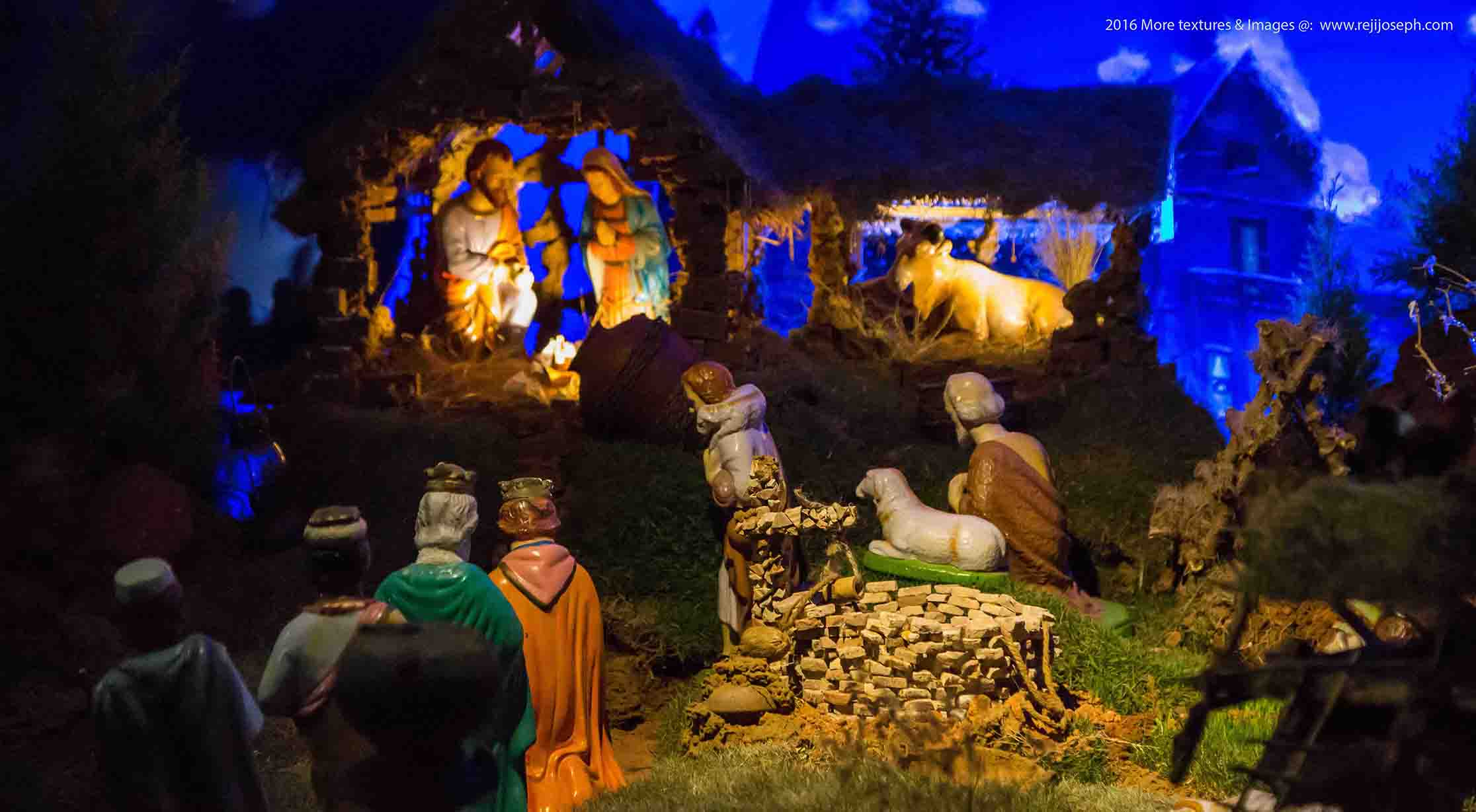Christmas crib Pulkoodu St. George Forane Church Edappally 00014