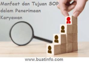 Buat Info - Manfaat dan Tujuan SOP dalam Penerimaan Karyawan