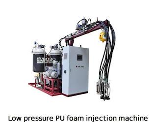 low pressure pu foam making machine