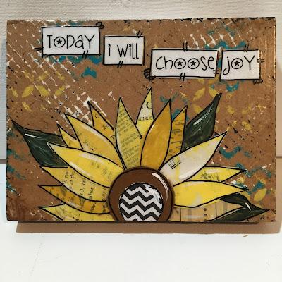 Arlington co fair, Sunflower decor, Today I will choose joy