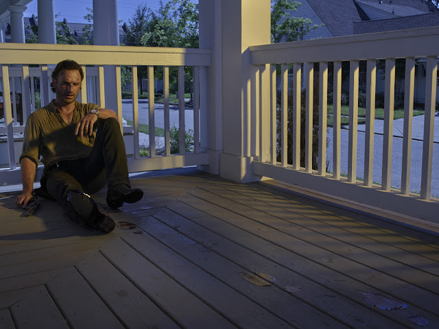 Andrew Lincoln como Rick Grimes – The Walking Dead _ temporada 6, Gallery – Photo Credit: Frank Ockenfels 3/AMC