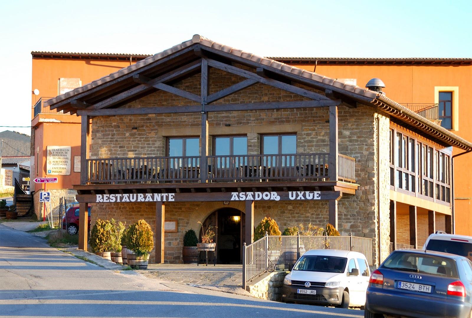 restaurante asador uxue navarra