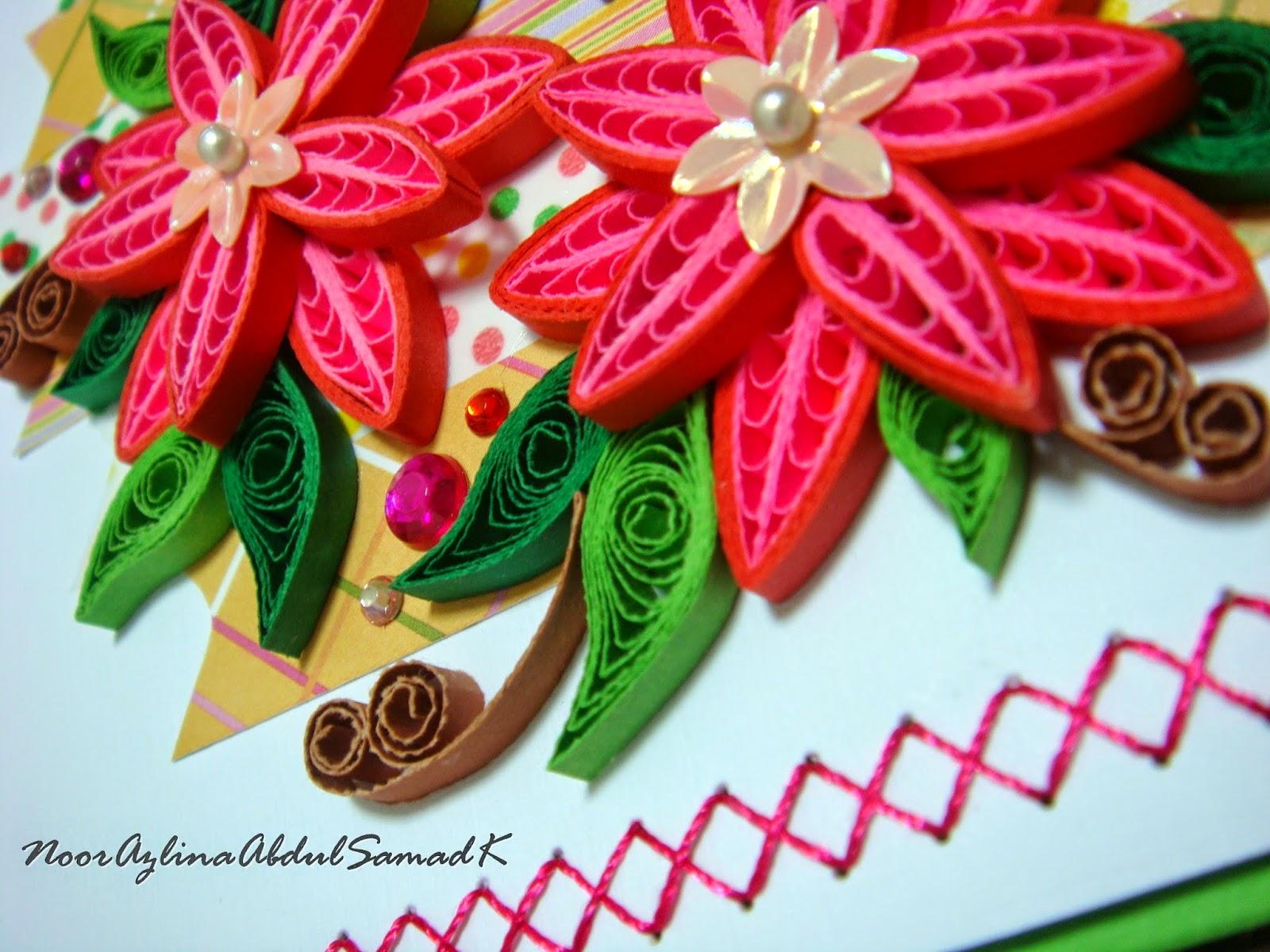 Double star loop flower pop up birthday card handmade art crochet double star loop flower pop up birthday card izmirmasajfo