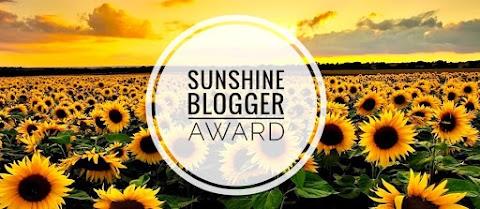 TAG - Sunshine Blogger Award