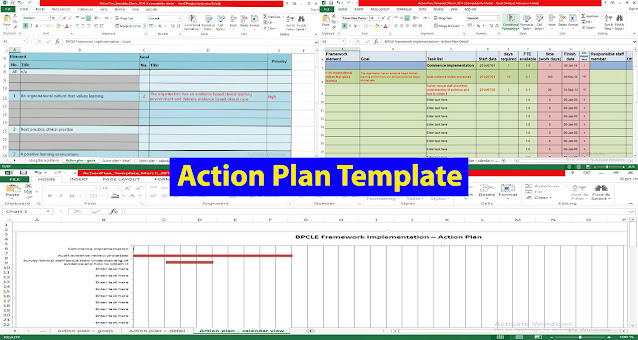 Action Plan Template in Excel