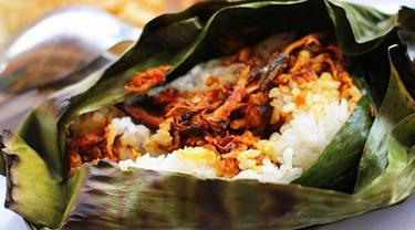 Mambuat Resep Menu Masakan Nasi Bakar Isi Telur Asin Yang Spesial - PINGIN MASAK ENAK