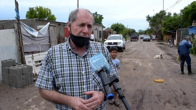 Funcionarios de Obras Publicas Municipal y Desarrollo Social recorrieron las zonas afectadas