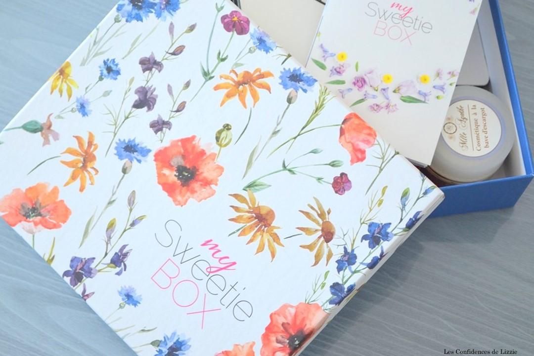 Box - box beauté - box lifestyle - Sweetie
