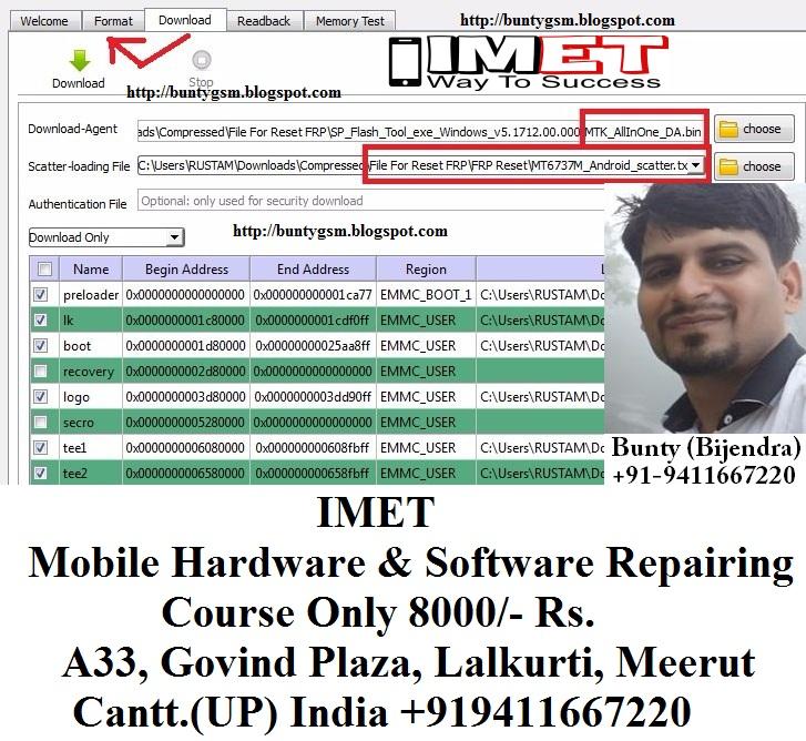 ZTE Blade A520 FRP Lock Remove – SP Flash Tool Method - IMET Mobile