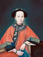 Chinese Concubine Sitting