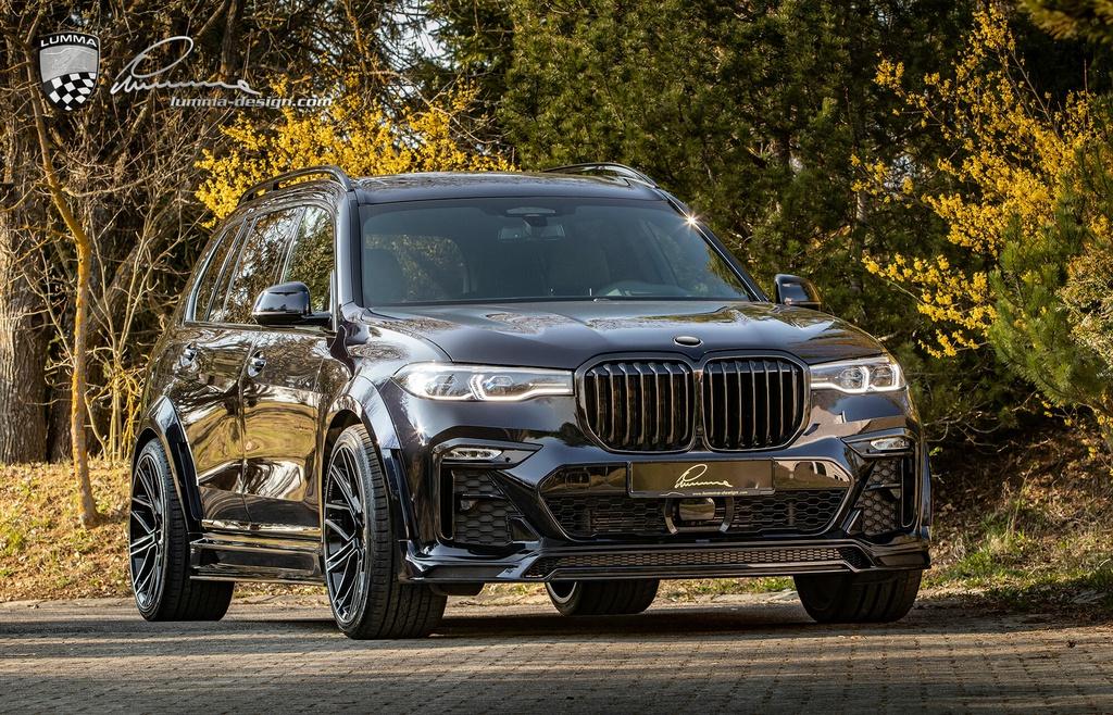 BMW X7 cơ bắp hơn với bản độ thân rộng