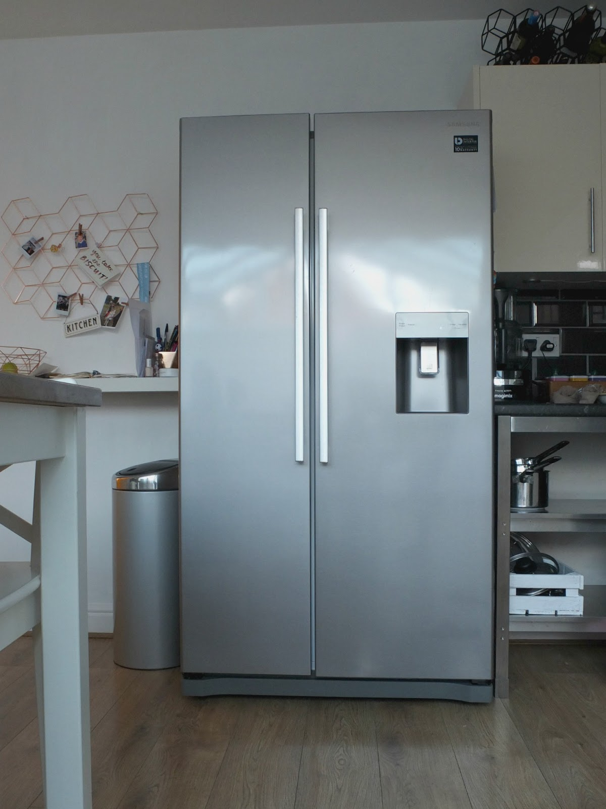 Samsung RS3000 RS52N3313SL American Fridge Freezer