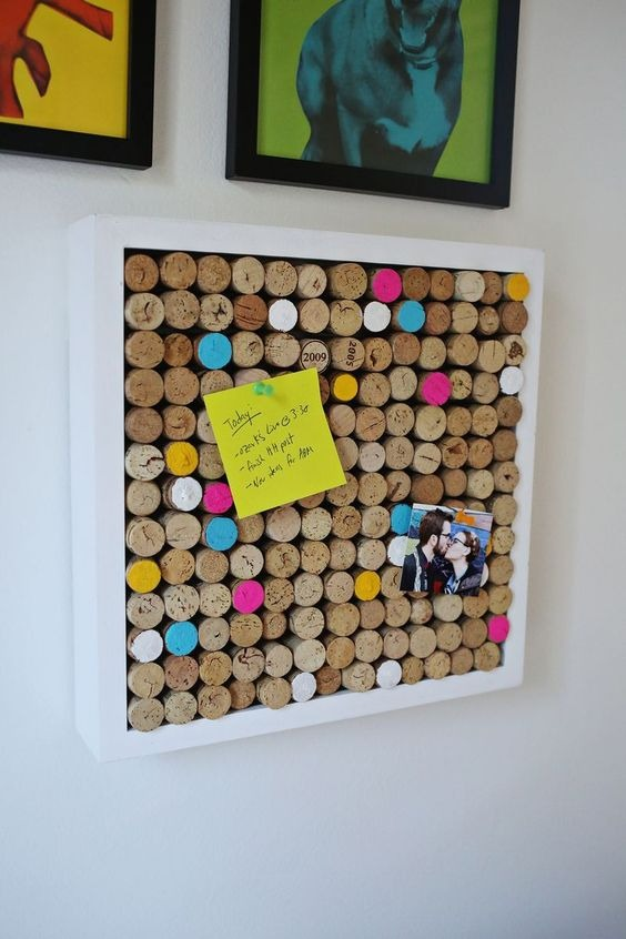 Scrapbook made with paper stopper and frame