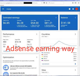 How to adsense earning life time | adsense online
