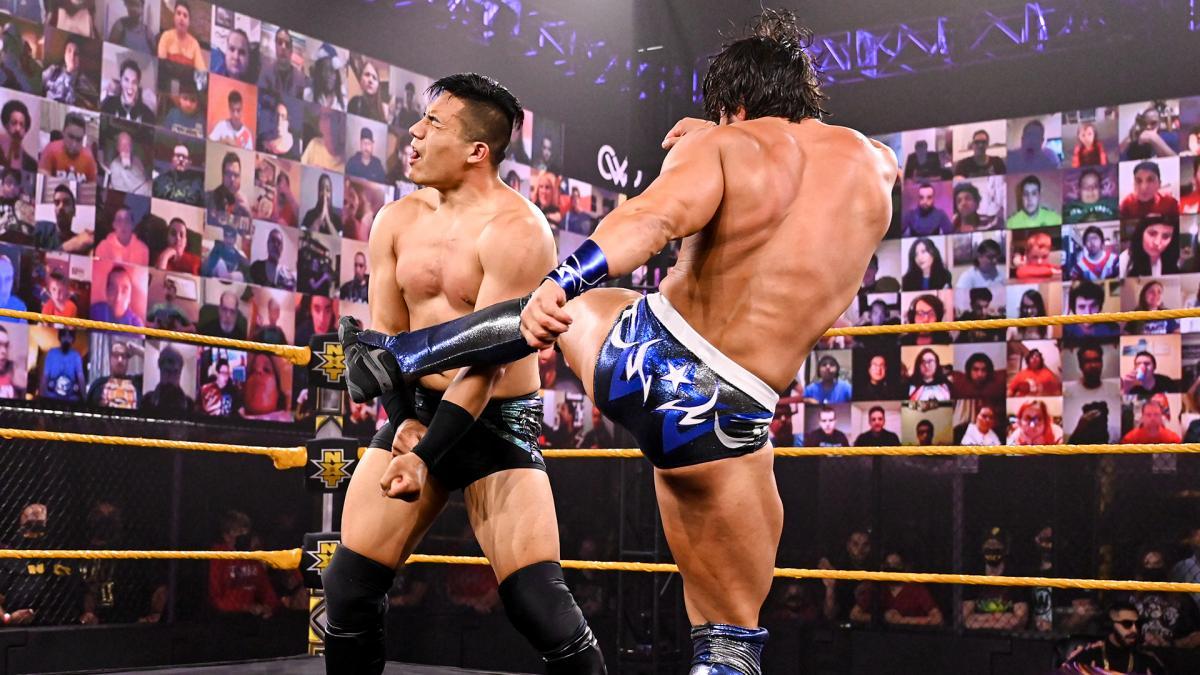 Tony Nese and Jake Atlas on WWE 205 Live