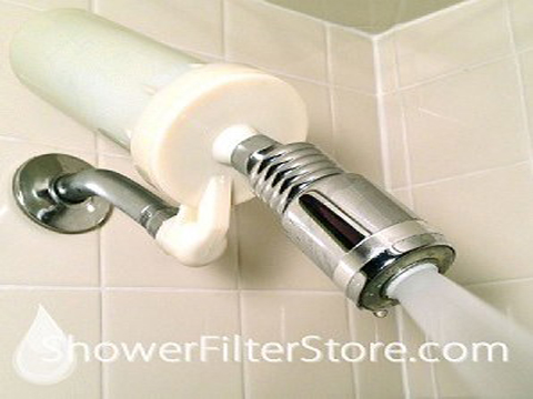 hard water shower filter
