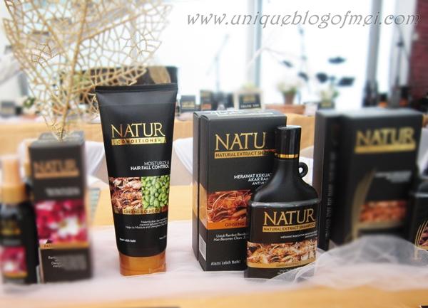 Natur Hair Care Product Review #Kuatdariakar