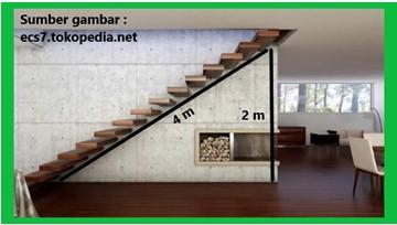 keuntungan mekanis pada tangga