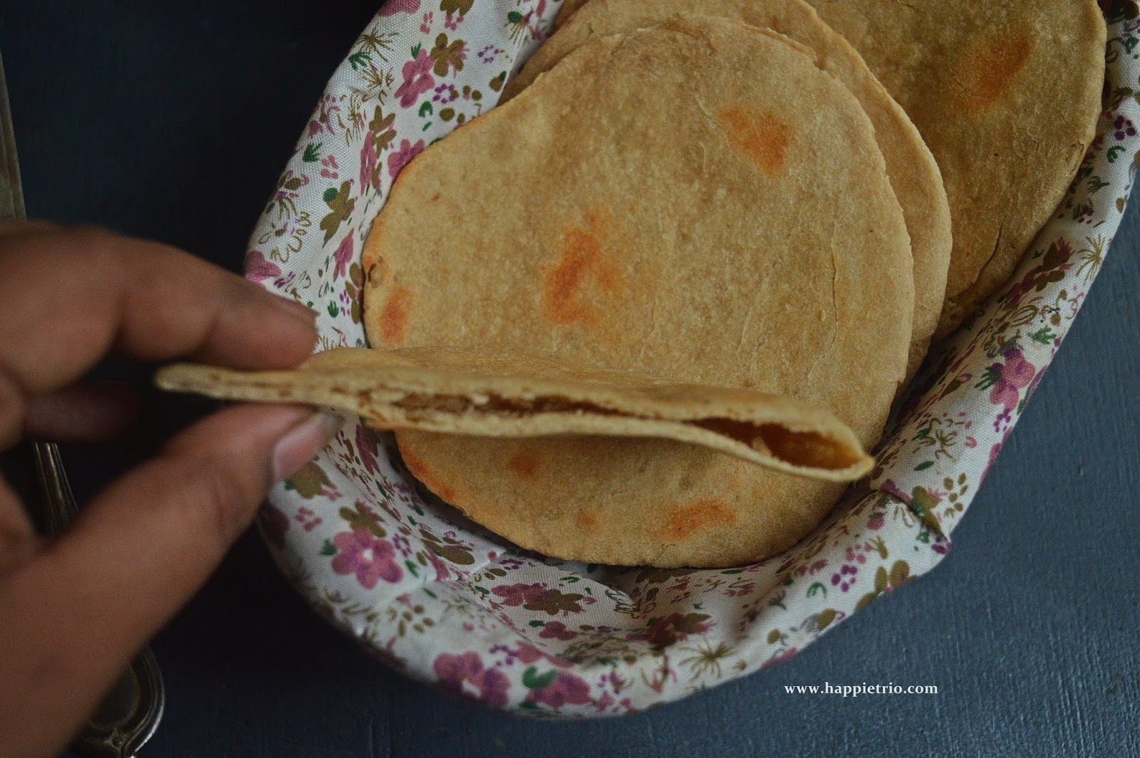 Whole Wheat Pita Bread Recipe | Homemade Pita Bread