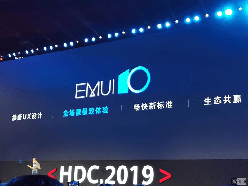Android 10-based EMUI 10 with Magazine Design and Human-Factor Based Dark Mode announced!