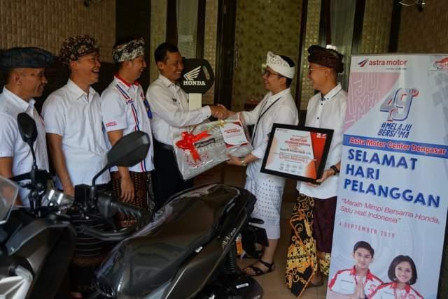 Hari Pelanggan Nasional 2019 oleh Astra Motor Bali