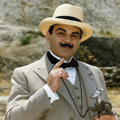 David Suchet as Hercules Poirot