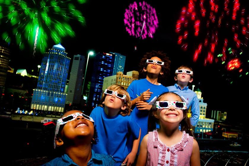 O que fazer no ano-novo em Orlando em 2018: Ano-Novo no parque Legoland