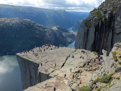 Top of Pulpit Rock, Stavanger