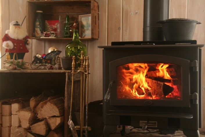 The Eclectic Cottage A New Wood Stove Photo