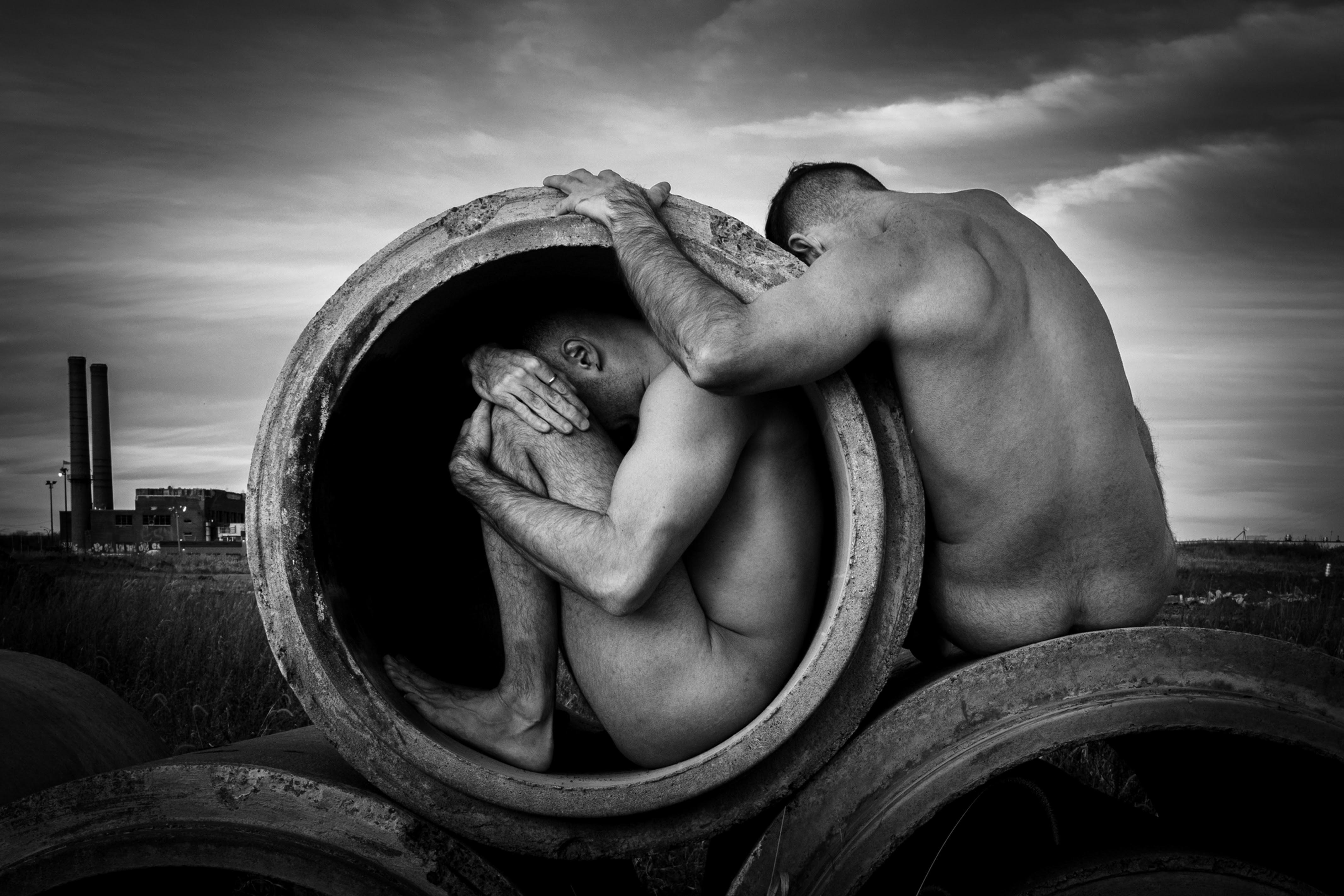 HuG ThrougH ConcretE, by Ahmad Naser-Eldein