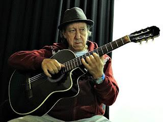 Gildo Campos no Teatro União, em Triunfo
