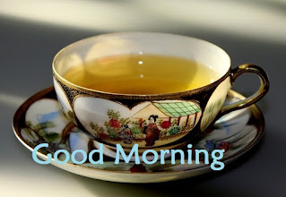 good morning tea image with love