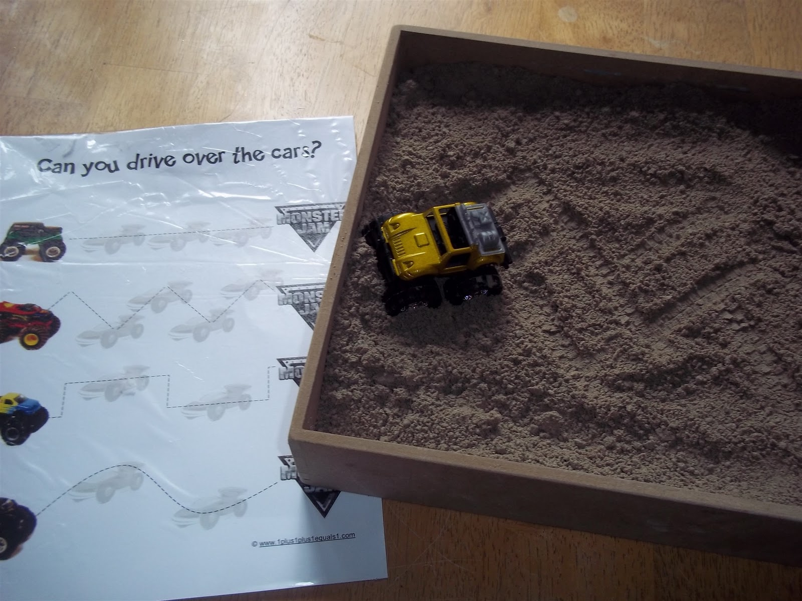 A List Maker S Life Monster Trucks Thematic Learning For