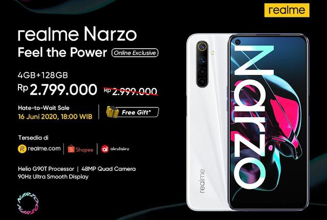 Realme X3 SuperZoom dan Realme Narzo Resmi Dirilis di Indonesia