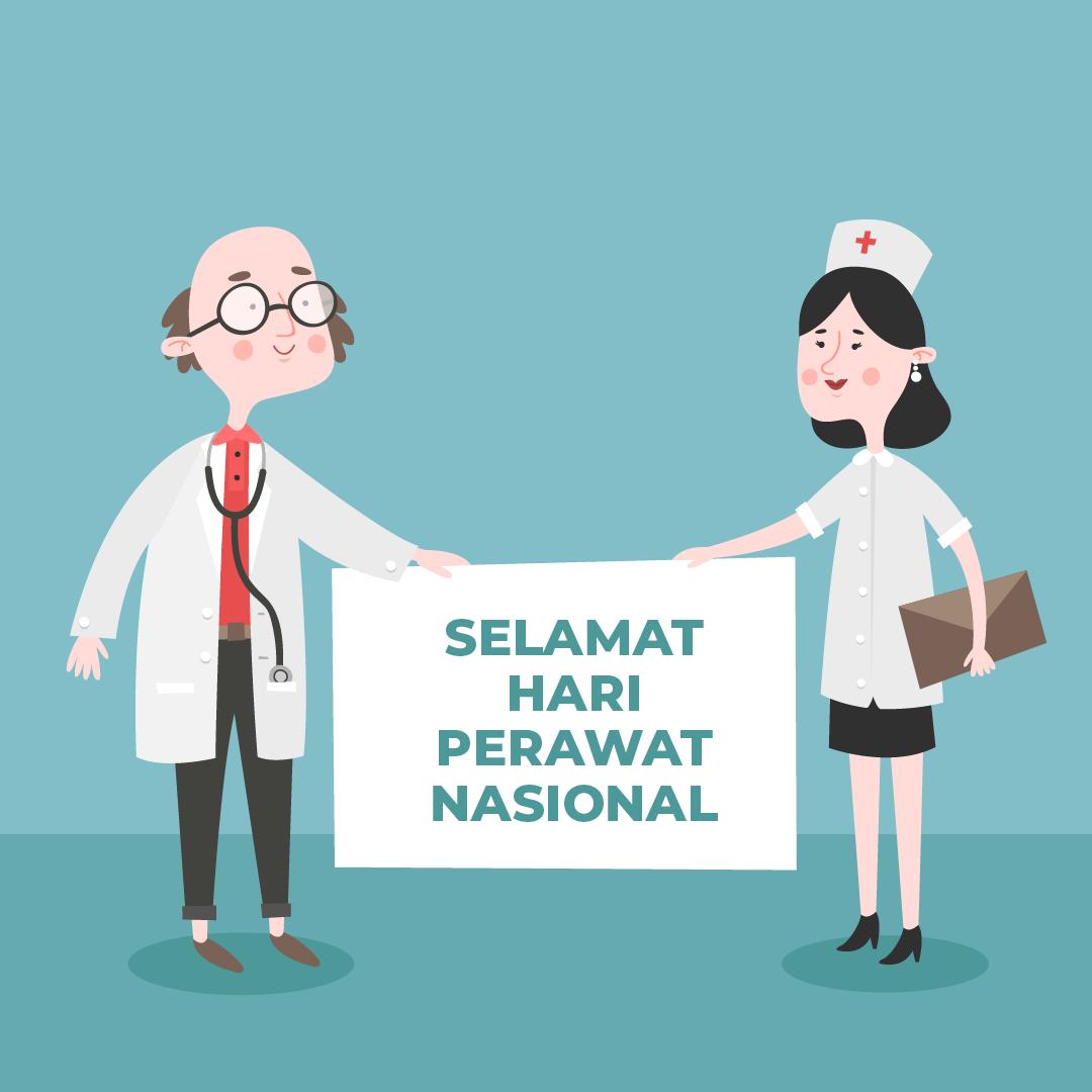 Gambar Ucapan Hari Perawat Nasional 2021