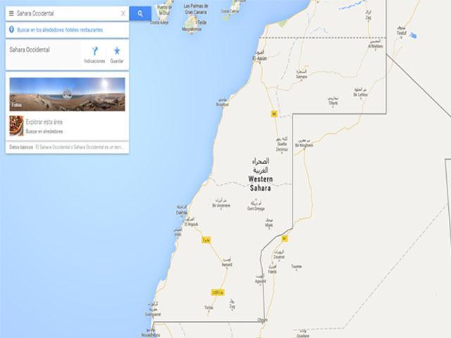 """Marruecos pidió a """"Google Maps"""" que elimine el mapa y el nombre del Sáhara Occidental y unirlo al reino, y Google rechaza"""