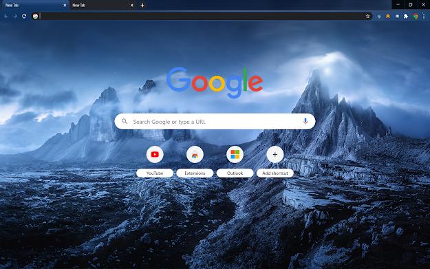 Dreamy Night Google Theme