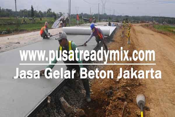 Gelar Beton Jalan Jakarta, Jasa Gelar Beton Jalan Jakarta, Tukang Gelar Beton Jalan Jakarta